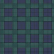 Lewis & Irene - Celtic Coorie - 6781 - Check in Blue & Green - A416.3 - Cotton Fabric